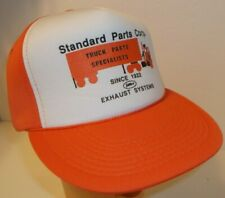 Standard Truck Parts~Ball Cap Hat~Flat Bill~Snapback~Vintage NOS~FREE Shipping