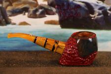 Unikat Freehand Pfeife mit925-er Silber Schildkröte von Tortuga Babes