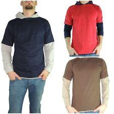Markenlose Herren-Kapuzenpullover & -Sweats mit Rundhals L