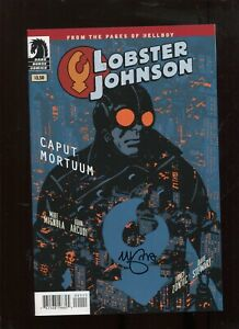 Lobster Johnson Caput Mortum #1 - Mike Mignola Hellboy SIGNED
