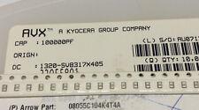 100 Pcs 100nf 50 V AVX Céramique Condensateur 08055c104kat4a 0805 ± 10% (m5640)