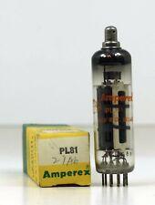 Nos Amperex Pl81 (21A6) Output Pentode - Hickok Tested Blackburn England 1969