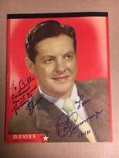 Bob Cummins Signed Vintage 8x10 Photo Notebook Unique Vintage item with COA