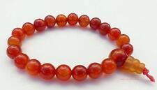 CARNELIAN Power Beads Bracelet crystal gemstone wrist mala chakra Jewellery