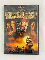 Pirates of the Caribbean The Curse of the Black Pearl DVD 2003 2 Disc Widescreen