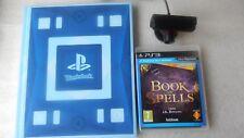 Wonderbook Buch der Zaubersprüche PS3 Spiel mit PS3 Eye Kamera für Sony Playstation 3