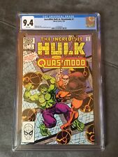 Incredible Hulk Vs Quasimodo # 1 Cgc 9.4