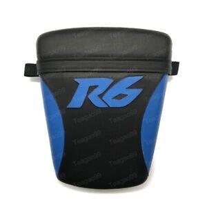 Black&Blue Rear Passenger Seat Pillion For Yamaha YZF R6 1998-2002 1999 20001
