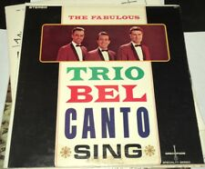 Lot of (4) Trio Bel Canto Albums Sing & Dance Now Fabulous  Grecophon Greek Rare