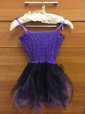 HALOWEEN FANCY DRESS IN PURPLE AGE 6-8