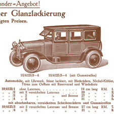 BING Beibl. feine Automobile, Blech Autos, lenkbare u.beleuchtete Automobile,Rep