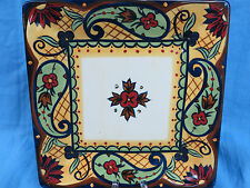 Corsica Crown Jewel Square Salad Plate 1