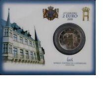 "Luxemburg 2 euro ""Henri en Charlotte"" 2009 BU Coincard Commemorative -In Stock!"