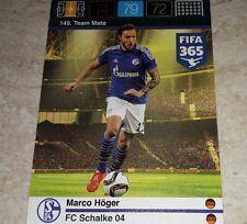 CARD ADRENALYN FIFA 365 CALCIATORI PANINI SHALKE 04 HOGER CALCIO