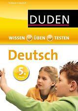 Ising-Richter, A: Wissen - Üben - Testen: Deutsch 5. Klasse von Anja...