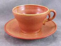 GMB Fransician El Patio Golden Glossy Glow Cup & Saucer