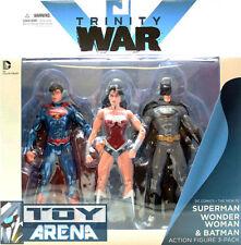 DC Comics Trinity War The New 52 Superman, Wonder Woman, Batman 3-Pack Set