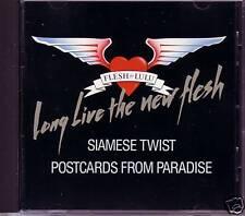 FLESH FOR LULU Siamese Twist / Postcards REMIXS PROMO DJ CD Single from paradise
