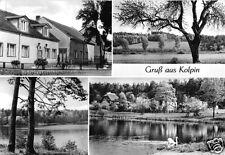 AK, Kolpin Kr. Fürstenwalde, vier Abb., 1978