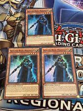Yu-Gi-Oh 3x Super Rare Skilled Blue Magician SECE-EN032 / SECE-ENS07 (Mixed)