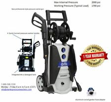 AR Blue Clean AR620 Blue Clean Prosumer 1900 PSI Hand Carry Electric Pressure Wa