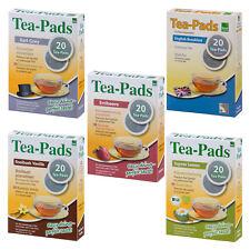 100 Tee Pads (5Pkg) 5 Sorten a´ 20 Pads - Tea-Pad Tea-Friends - Senseo geeignet