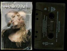 Madonna The Power Of Good-bye USA Cassette Single Tape goodbye