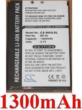 Batterie 1300mAh type BP-5L Pour NOKIA E62