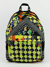 New VERSUS VERSACE Multicolor Nylon Backpack Bag $550