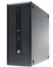 HP EliteDesk 800 G1 TORRE Pc Pentium G3250 8gb RAM NVS 310 + 500GB 10k HDD +