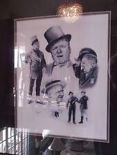 Vintage W.C. Fields Framed Print Signed by F. Tillman
