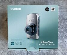 Canon PowerShot ELPH 500 HS 12.1 MP Digital Camera **Accessories/ Charger Only**