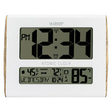 BBB86095 La Crosse Technology Atomic Digital Wall Clock with TX191 - Refurbished