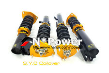 SYC ADJUSTABLE DAMPER COILOVERS F&R SET FOR SUBARU LIBERTY BE BH SEDAN 98-04