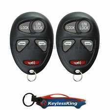 2 Replacement for Chevrolet Venture - 2001 2002 2003 2004 2005 2 van Car Remote