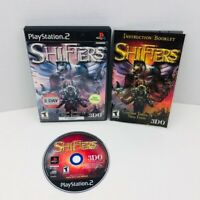 Shifters Sony PlayStation 2 PS2 Video Game Complete With Manual