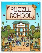 Puzzle School (Usborne Young Puzzles), Susannah Leigh, Acceptable Book