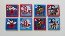 8 Pirate Jolly Roger Slide Puzzle Game Kid Party Goody Loot Bag Toy Favor Supply