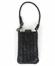 $440 NEW BOTTEGA VENETA Leather Card Holder Cell Phone Case 172765 v001n 4014