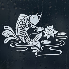 Fish In A Pond Car Decal Vinyl Sticker For Window Bumper Panel