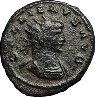 Coins & Paper Money Gallienus 258ad Milan Authentic Ancient Silver Roman Coin Victory Nike I58537 Quality First