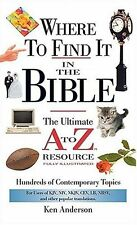 Where to Find It in the Bible: Mass Market Edition
