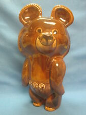 Moscow Olympic Games 1980.Giant Olympic Bear Misha. Porcelain Ceramic Figurine