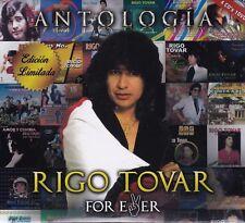 Rigo Tovar Antologia 4CDS+1DVD Caja de carton New Nuevo Sealed  FOR EVER