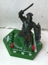 LORD OF THE RINGS COMBAT HEX MINIATURES - URUK-HAI WARRIOR GAME PIECE FIGURE