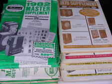 Worldwide Harris Master Album Supplements  Choose from 1981 or 1989  NOS C1