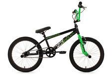 "BMX Freestyle 20"" 4 Pegs BMX Rad Circles Kinderrad 360 Rotor Schwarz-Grün 566B"