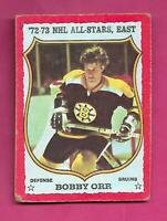 1973-74 OPC  # 30 BRUINS BOBBY  ORR ALL STARS VG CARD (INV# C5466)