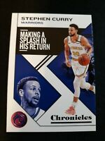 F17 2019-20 Panini Chronicles Steph Curry Pink Parallel #21 GOLDEN STATE WARRIOR