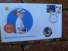2002 ROYAL VICTORIAN BOWLS ASSOC ILLUSTRATED P-STAMP COVER